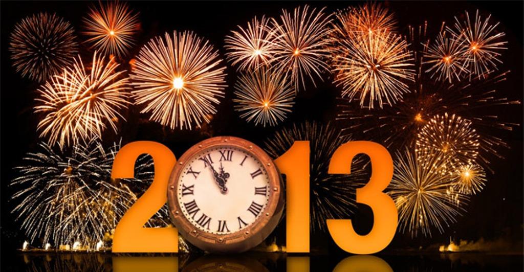 Bienvenido Año 2013