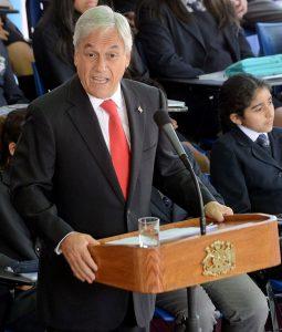 Presidente Sebastian Piñera educacion