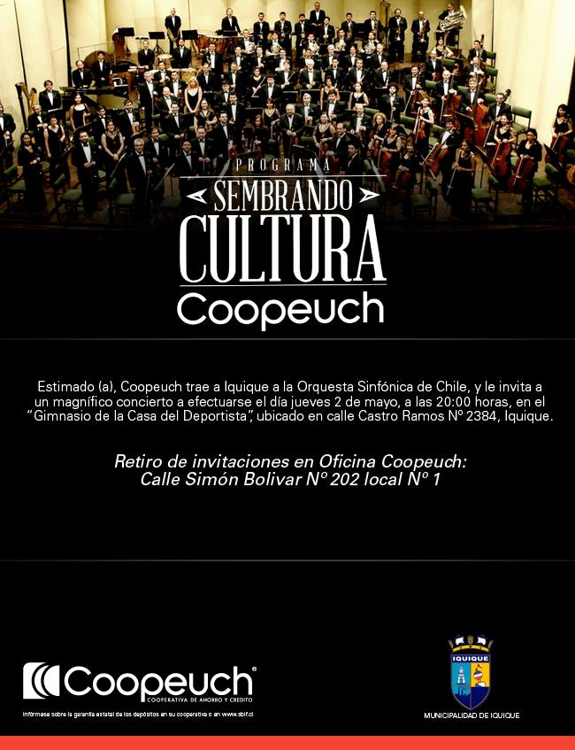 Sembrando cultura Coopeuch - IMI en Iquique
