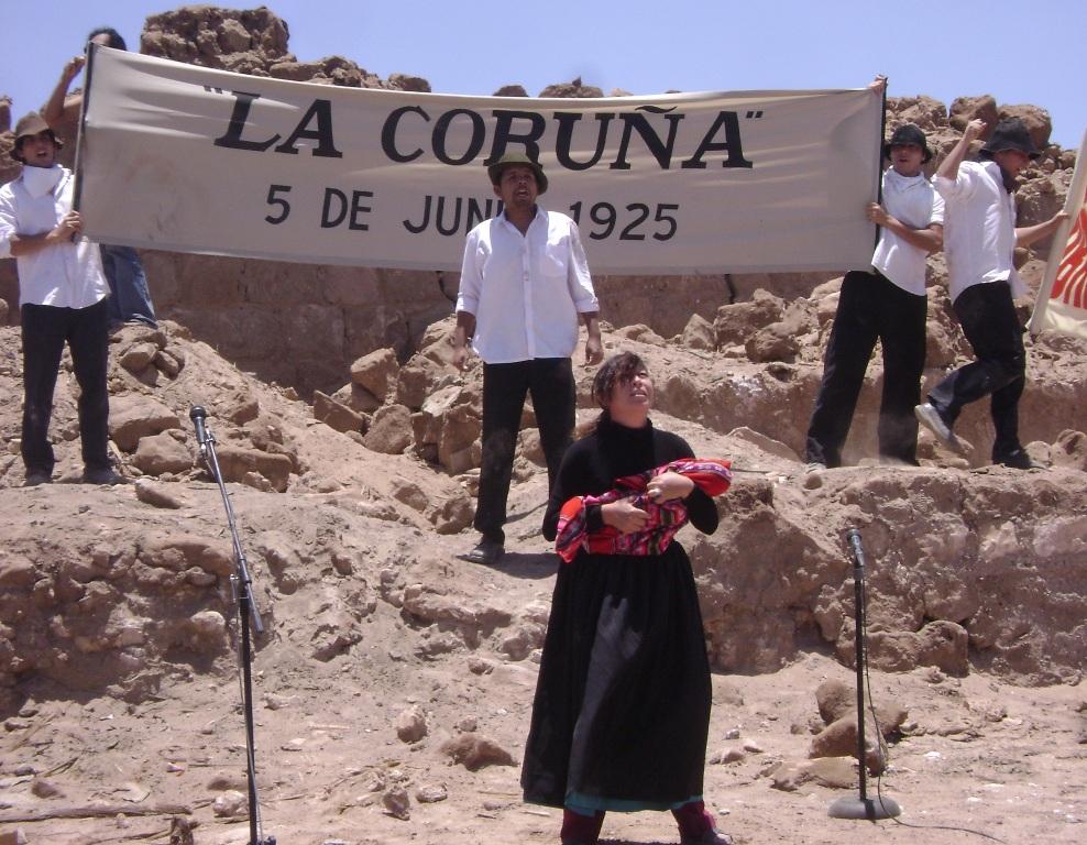 Masacre de la coru a diario el nortino iquique el for Oficina de turismo a coruna