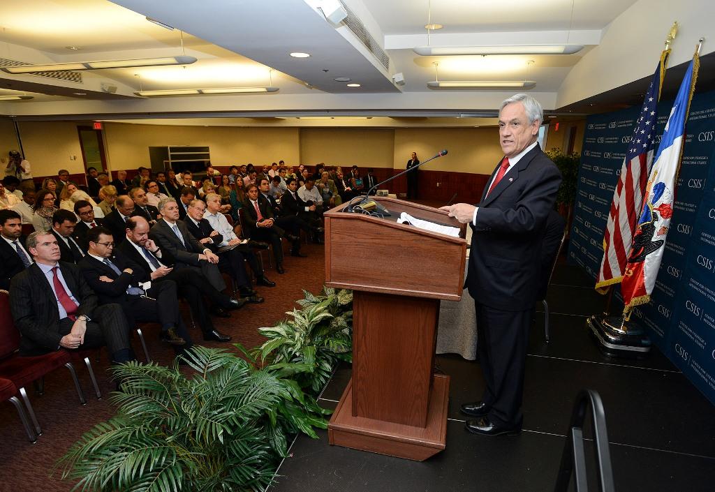 Presentación ante el Centro CSIS