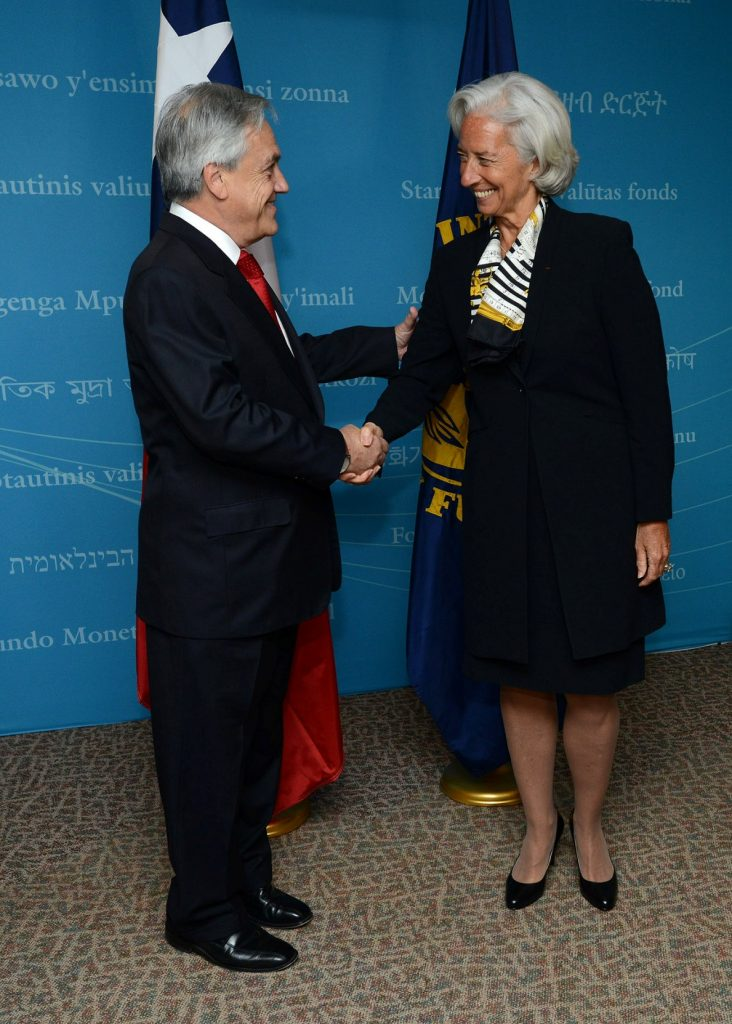 Reunión con Directora Fondo Monetario Internacional