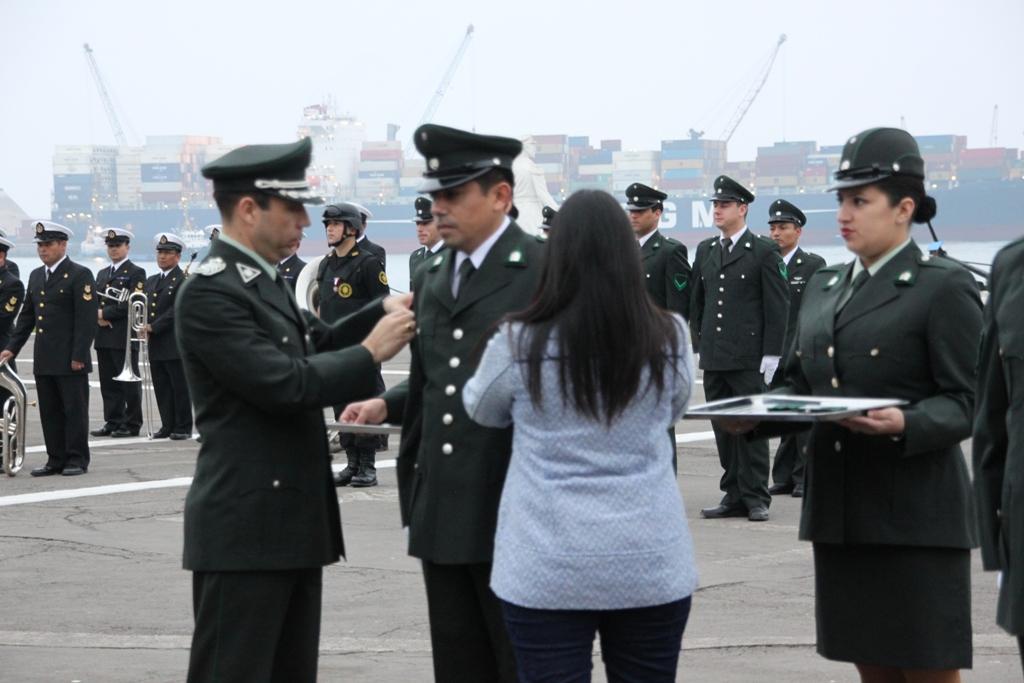 realizó ceremonia de ascenso para funcionarios de la USEP