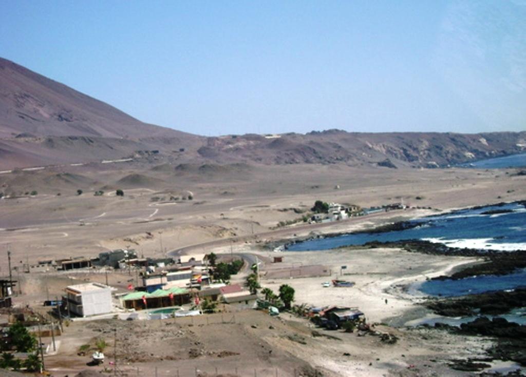Playa Peruana Iquique de Playa Blanca en Iquique