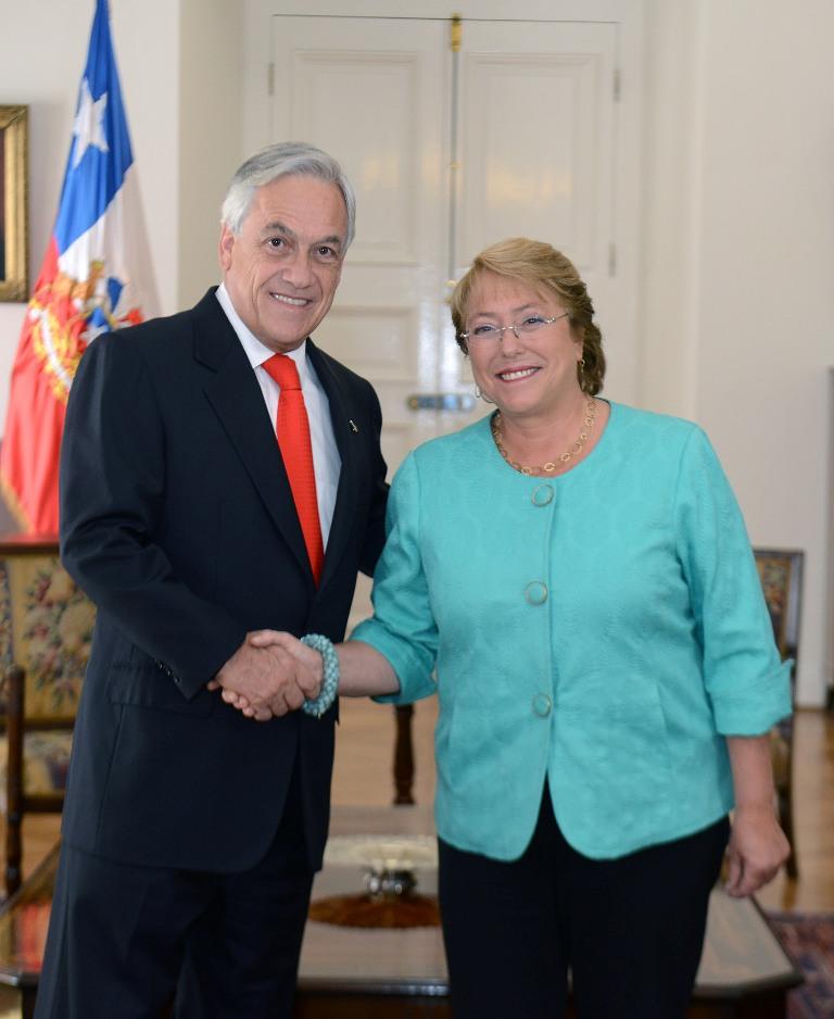 Audiencia a Presidenta electa Michelle Bachelet