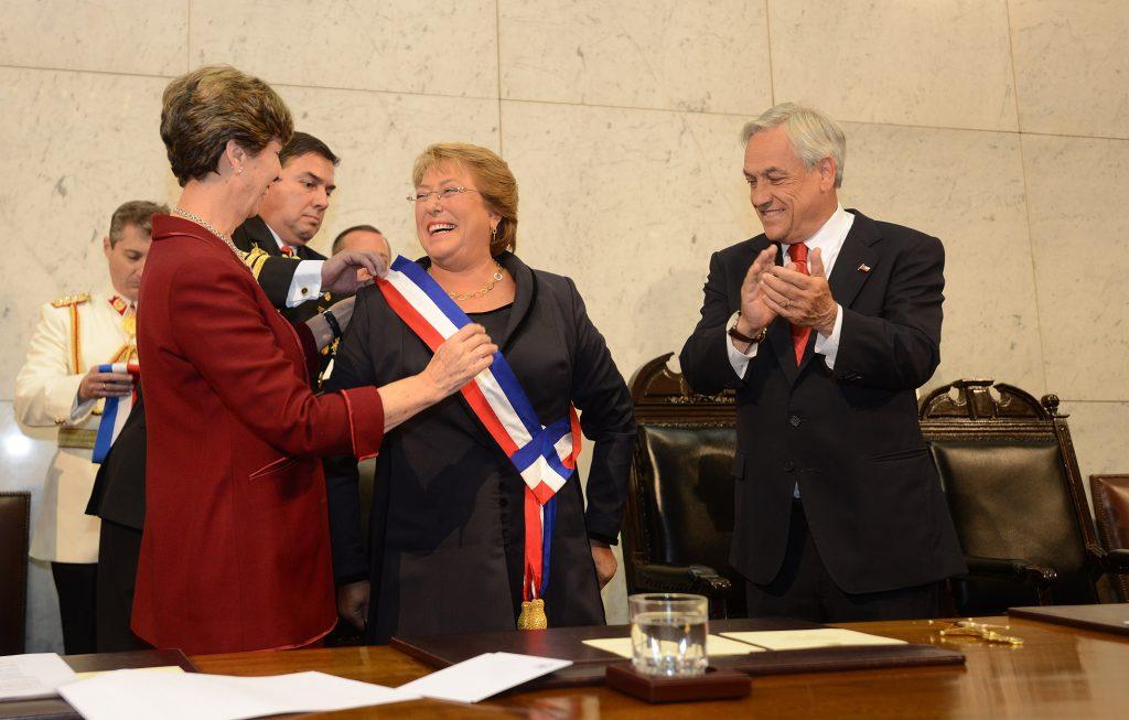 Presidenta de la República Michelle Bachelet