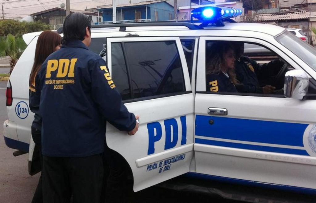 Detenida por Briderpo PDI Iquique