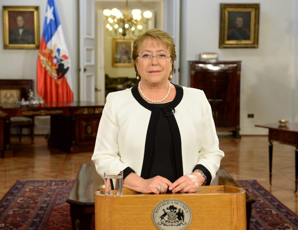 Cadena Nacional de Presupuesto - Presidenta Michelle Bachelet
