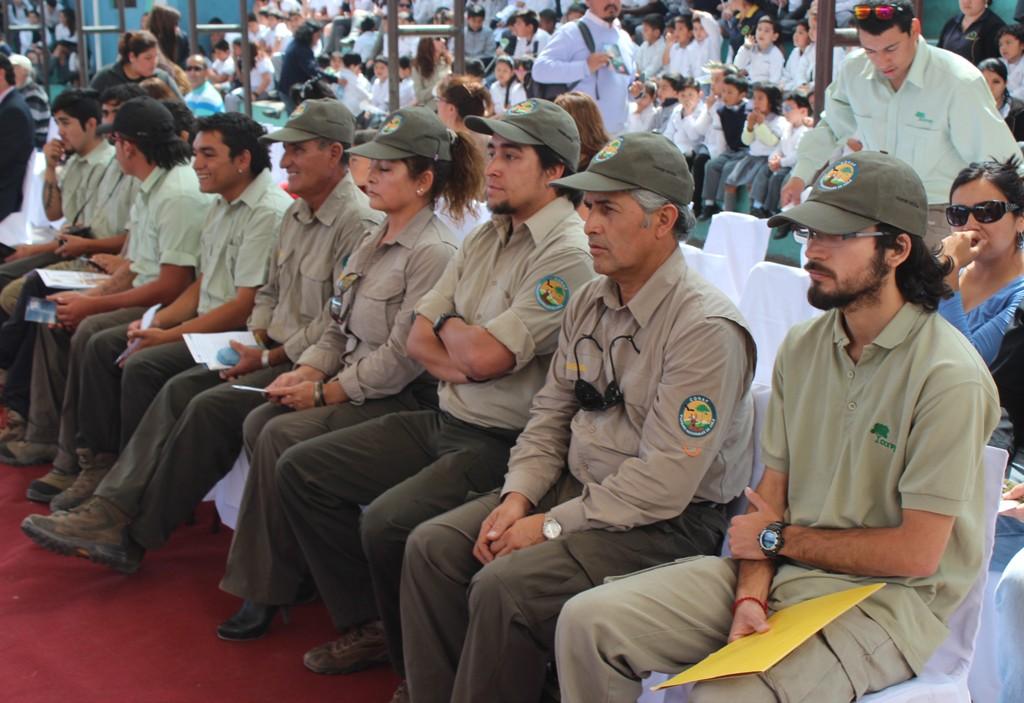 Guardiaparques en Tarapaca
