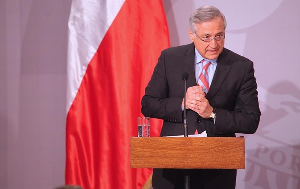 Ministro de Relaciones Exteriores de Chile Heraldo Muñoz