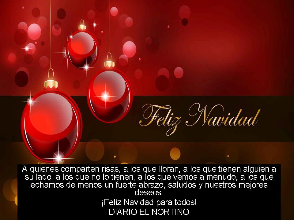 2014 - FELIZ NAVIDAD - DIARIO EL NORTINO