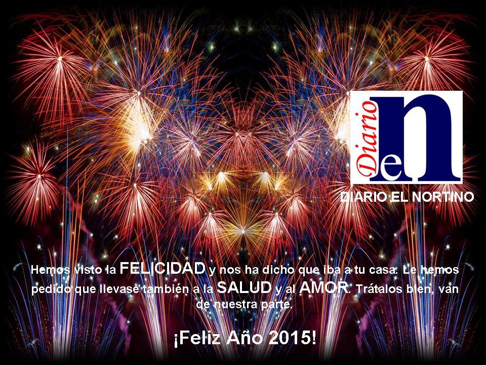 Feliz Año 2015 - Diario El Nortino