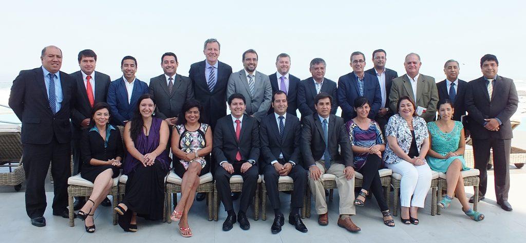 Gabinete del Gobierno Regional de Tarapacá - Marzo 2015