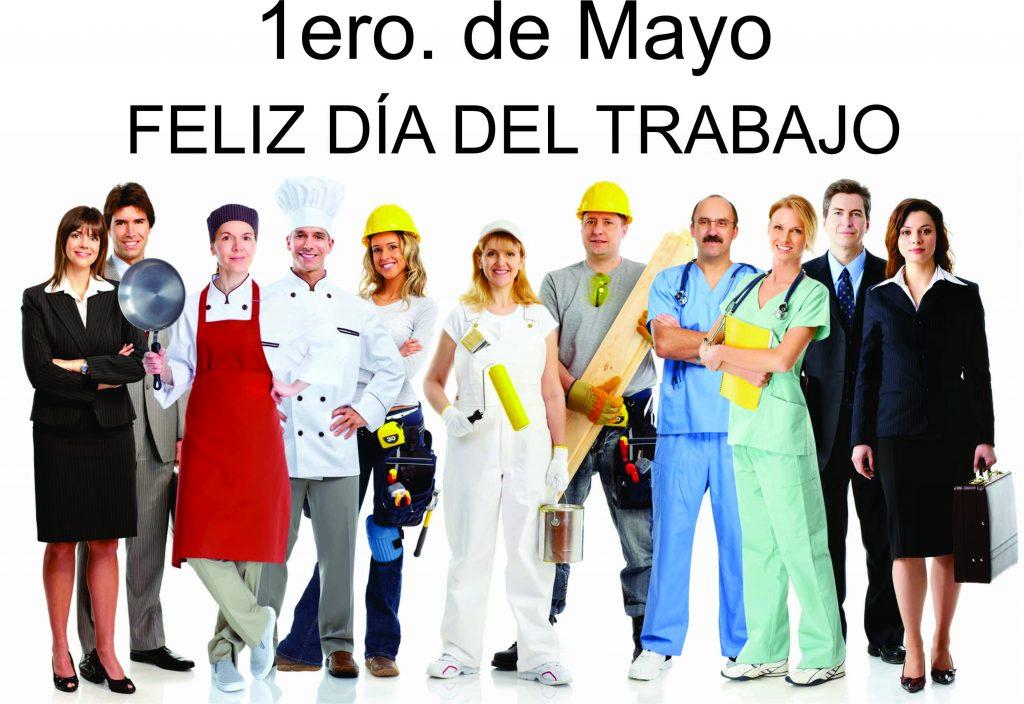 Feliz d a del trabajador 1ero de mayo diario el for Gimnasio 1 de mayo