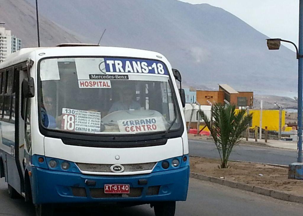 Alto iquique diario el nortino iquique el tamarugal - Servicio de transporte ...