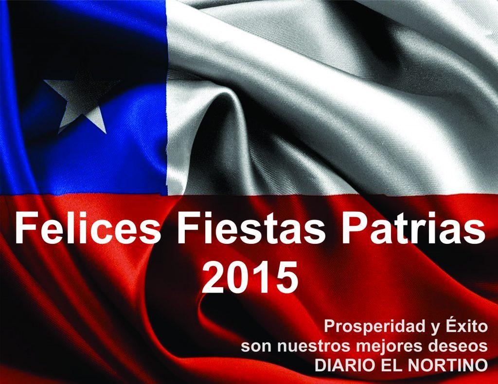 Felices Fiestas Patrias 2015