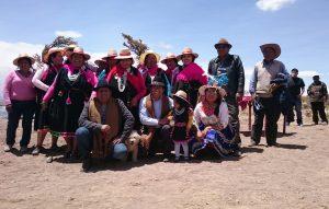 Pobladores de la Localidad de Ancuaque en Colchane